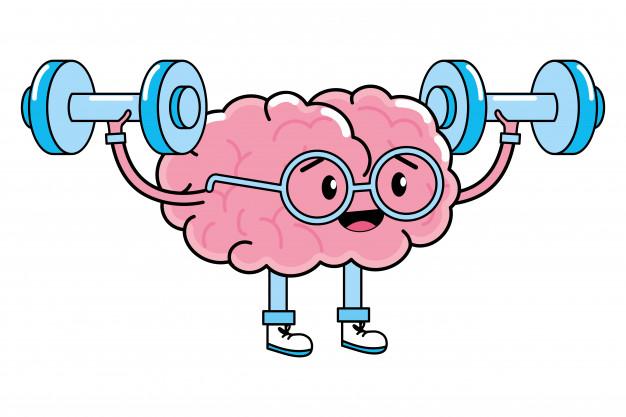cute brain cartoon 24640 54407